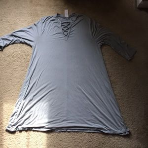 Gray Tunic Dress